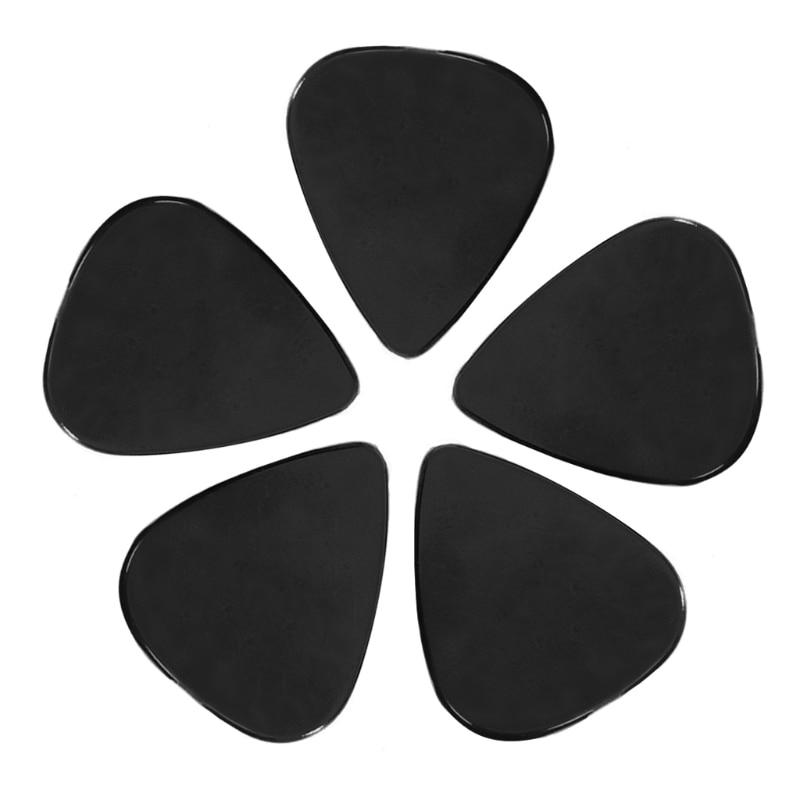 soach 10pcs lot 0 46mm 0 71mm 1 0mm bass guitar picks plectrums accessories musical instrument guitar parts 100pcs Black Acoustic Electric guitar picks 0.71mm Plectrums Musical Instrument