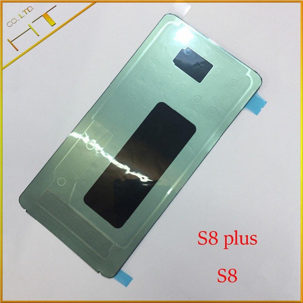 2x remplacement dos adhésif colle autocollant bande pour Samsung Galaxy S8 G950 S8 plus G955 LCD écran rétro-éclairage