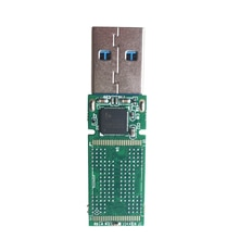 BGA152 BGA132 BGA136 TSOP48 NAND flash USB3.0 U disk PCB IS917 main controller without flash memory for recycle SSD flash chips