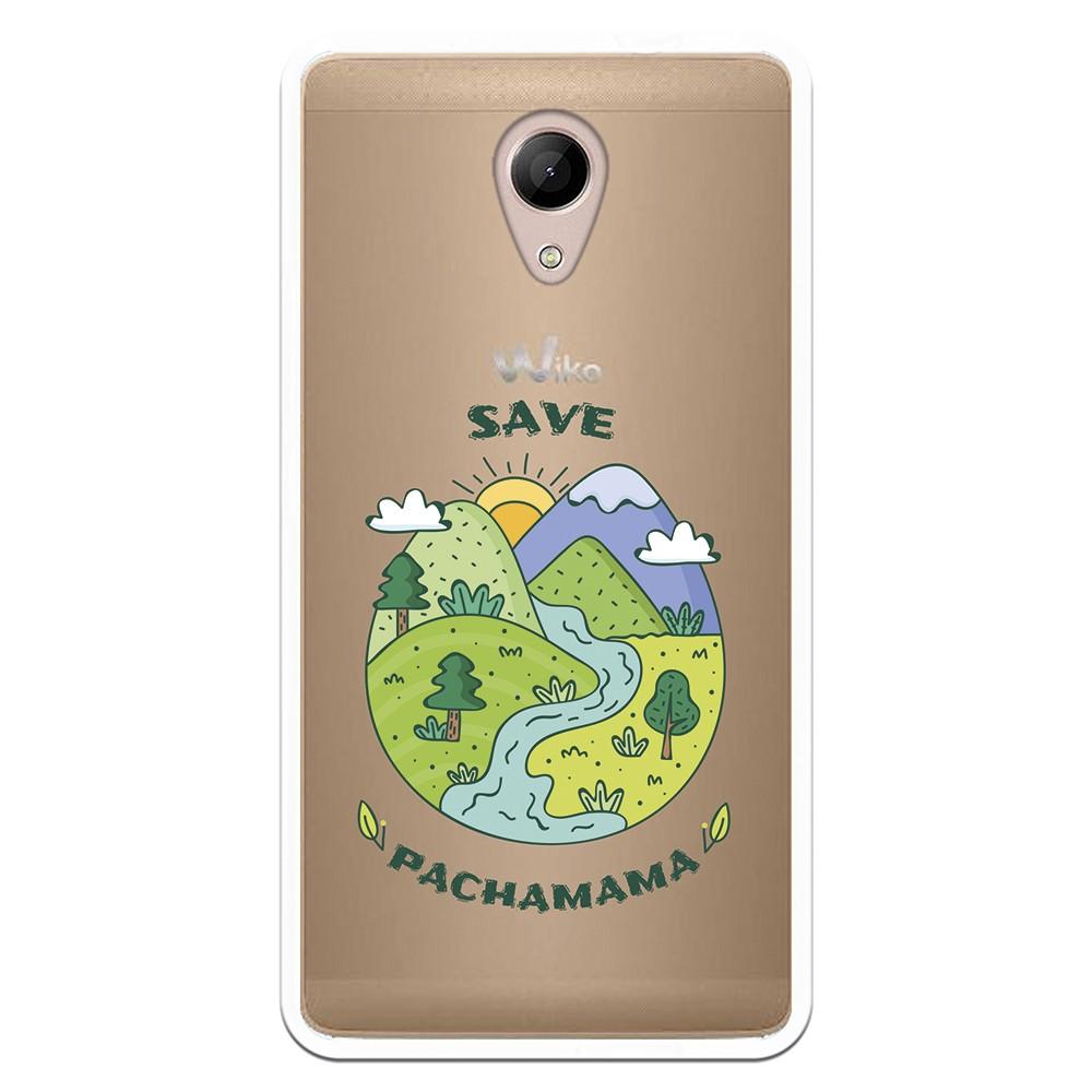 Funda Dibujo Save Pachamama WP003 para Wiko Robby