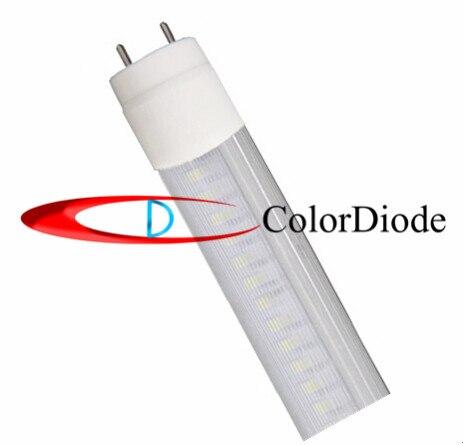 Warm White  3100K Wave Cover T8 LED Tube Light 120leds 2400LM 20W 1.2m