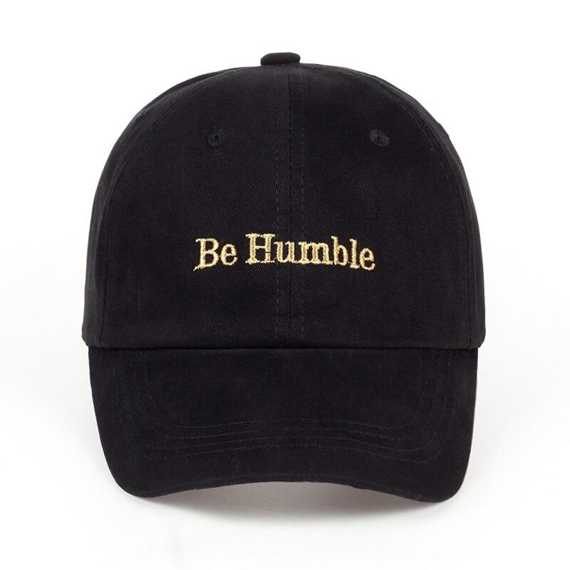 2019 VORON Brand Casual Baseball Cap Men Women Embroidery be humble Unisex couple cap Fashion Leisure dad Hat Snapback cap