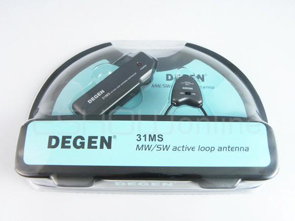 Новая игровая мягкая антенна DEGEN DE31MS для МВт и SW