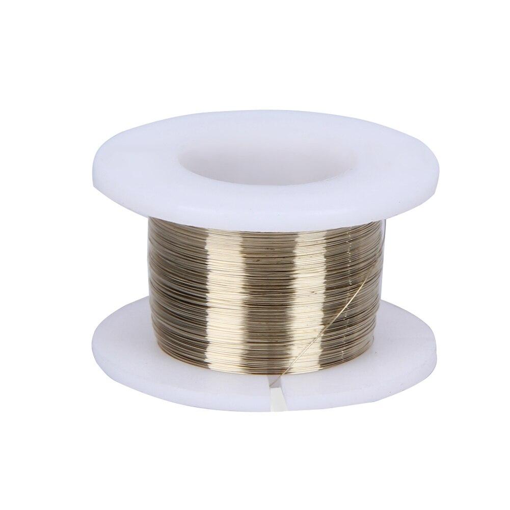 Золотой молибdenum провод 0,10 мм 100 м ЖК-экран для резки, разветвитель линии разделения для мобильных телефонов iPhone, резка стекла L
