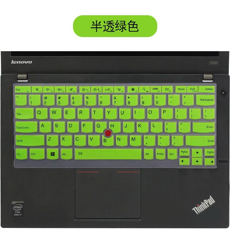NOVEDAD DE 2016, funda protectora para teclado de silicona de 12,5 pulgadas, pegatina protectora para Lenovo Thinkpad X270 X260 X250 S1 YOGA X240S X230S