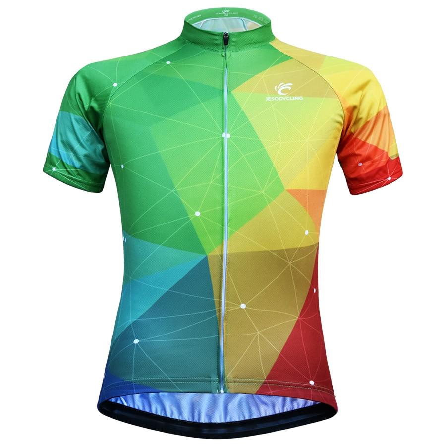 Женские велосипедные Джерси JESOCYCLING, рубашки, одежда для горного велосипеда, велосипедная одежда, одежда, короткая велосипедная одежда, одеж...