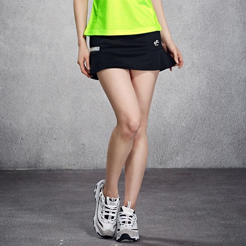 Falda deportiva para tenis, jersey de bádminton para mujeres, falda de bádminton, pantalones, ropa transpirable de secado rápido