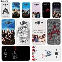 Sheli Pretty Little Liars tv Transparent Hard Phone Case for Samsung J1 J2 J3 J4 J5 J6 J7 J8 2015 2016 2017 2018 J7 Prim Plus