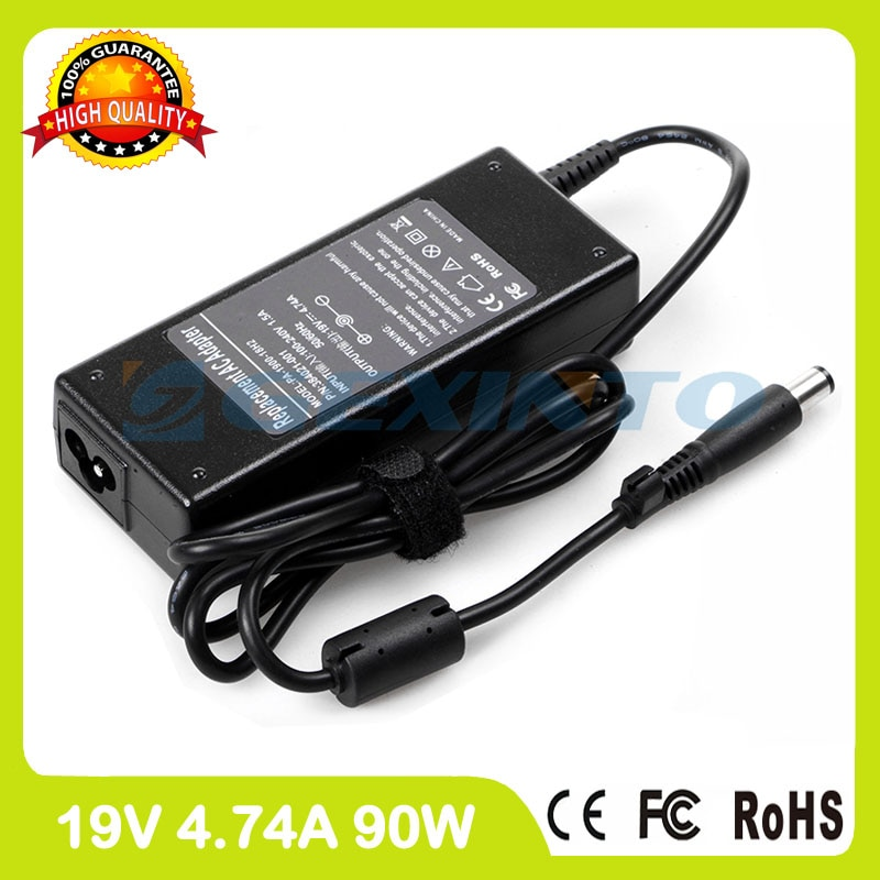 19 v 4.74a ac adapter laptop ladegerät für hp pavilion dv4-4000 dv4-4100 dv4-4200 dv5z-1000 dv5z-1100 dv6-1300 dv7-1200 dv7-1400