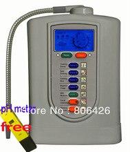 Ioniseur Kangen libre-service/eau alcaline/eau cathodique/eau hydrogène (JapanTechTaiwan fact) filtre en fibre de carbone intégré + ph-mètre