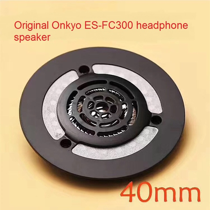 Original Replacement Repair Part 32ohm 40mm Speaker for Onkyo ES-FC300 Headphones DIY 40mm Titanium Drivers with Front Shell enlarge