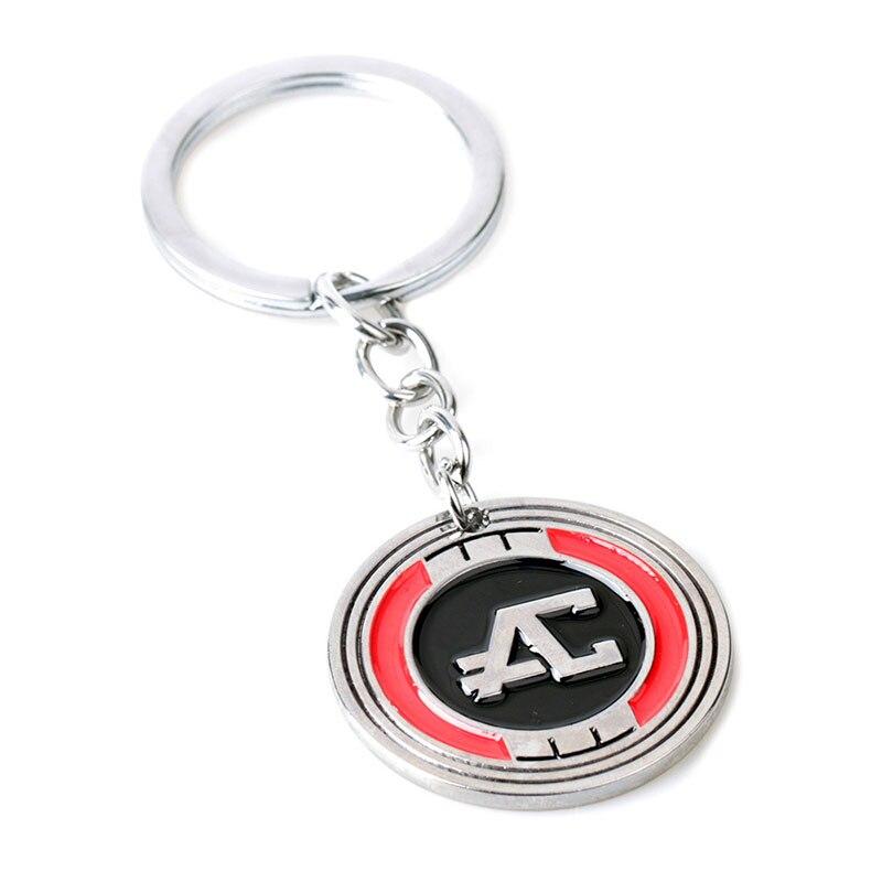 Hot Game Apex Legends Keychain logo Key Rings Key chains Gift Souvenirs for Boys Car Key Holder keyring fashion jewelry pendant