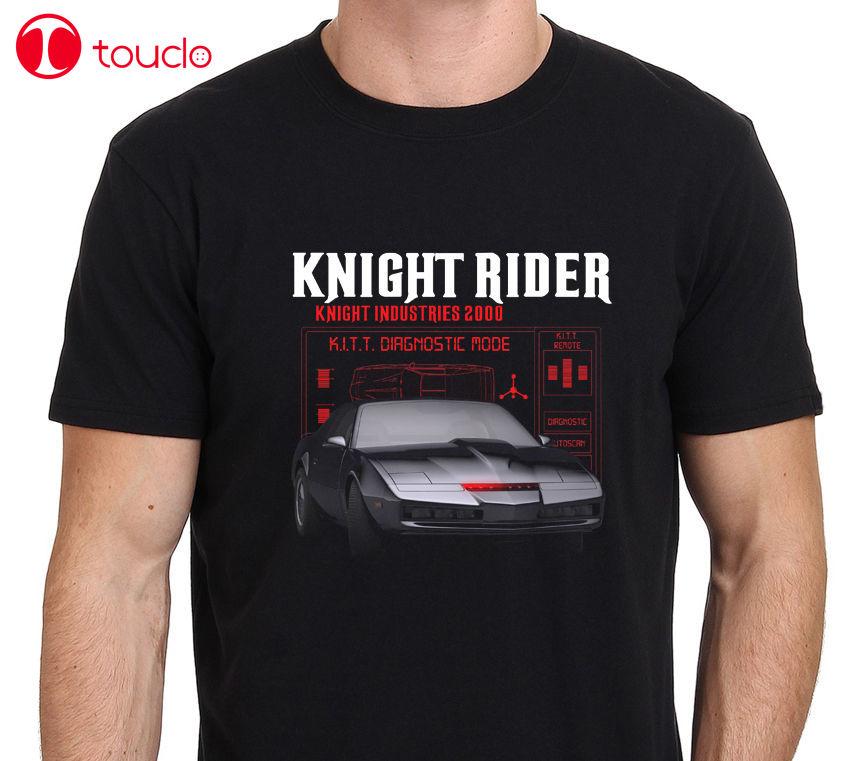 Estilo Hombres Nuevo diseño de algodón para hombre Camiseta Knight Rider Kitt Tv Hasselhoff para hombre Camiseta talla S a Xxxl suéter