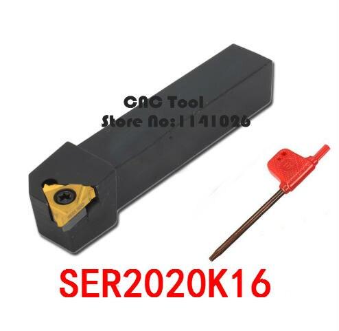 SER2020K16/SEL2020K16, herramienta de torno de hilo outlet de fábrica, máquina de torno conjunto de herramientas de torno interno CNC Indexable b