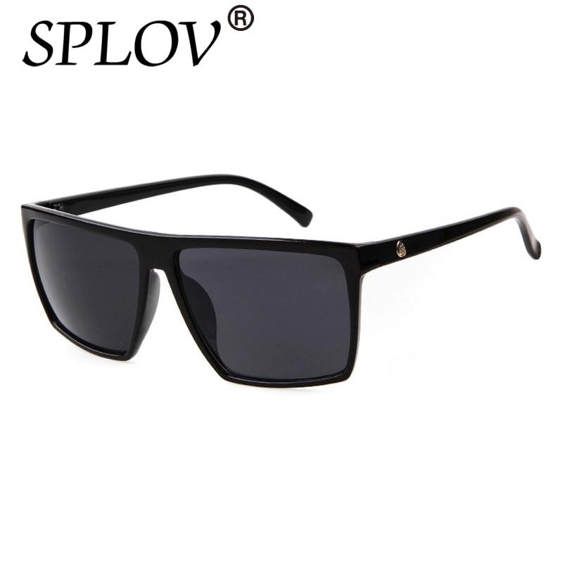 Vintage Steampunk Square Sunglasses Men SKULL Logo All Black Coating Sun Glasses Women Brand Designe