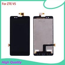 ЖК дисплей для ZTE Redbull V5 V9180 N9180 U9180 кодирующий преобразователь сенсорного экрана в сборе детали для телефона для ZTE Redbull V5 V9180
