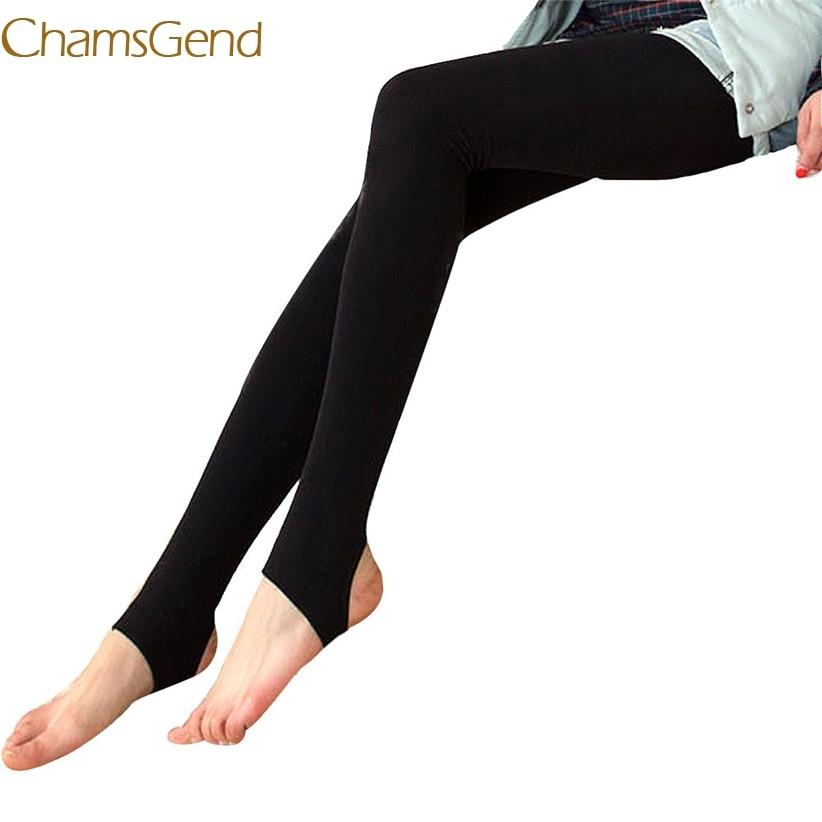 Leggings Chamsgend, nuevo diseño, para mujer, de invierno y otoño, Tigths ajustados cálidos Oct14, envío directo