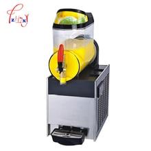 Machine commerciale de fonte de neige de cylindre simple 110 V/220 v Machine de Smoothie de distributeur de boisson froide de Slusher de glace de Slusher XRJ10Lx1 1 pc