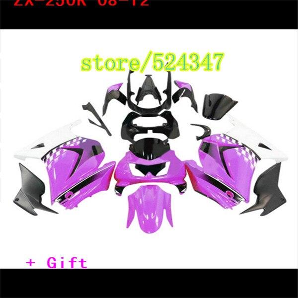 Para Kawasaki Ninja 250R 2008 - 2012 08 09 10 11 12...