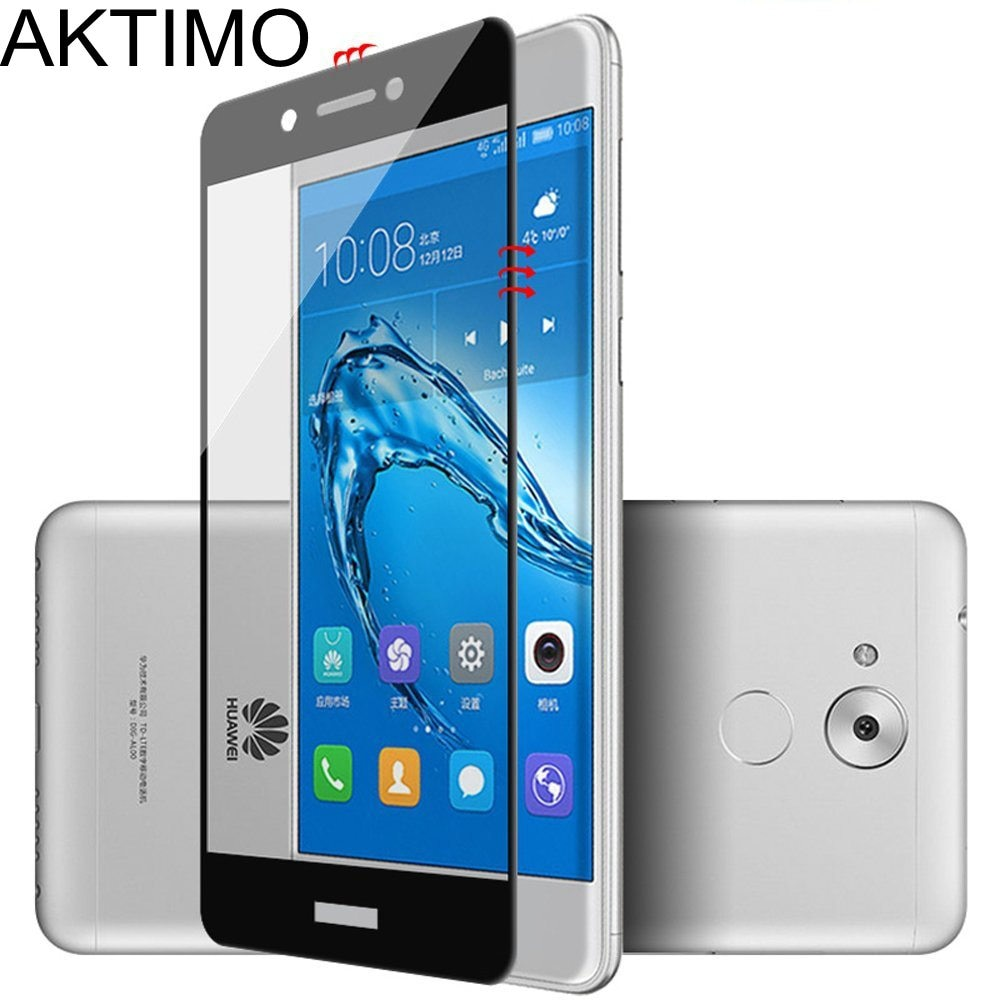 Para Huawei Honor 6C DIG-L21 9H cubierta completa de vidrio templado para Huawei Nova Smart DIG-L01 5,0 pulgadas Protector de pantalla película protectora