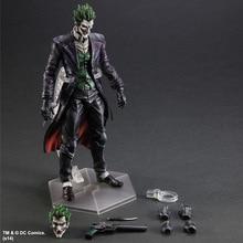 Batman Action Figure Play Arts Kai Arkham Joker Toys PVC 260mm Anime Movie Collectible Model Toy Bat Man Playarts Kai