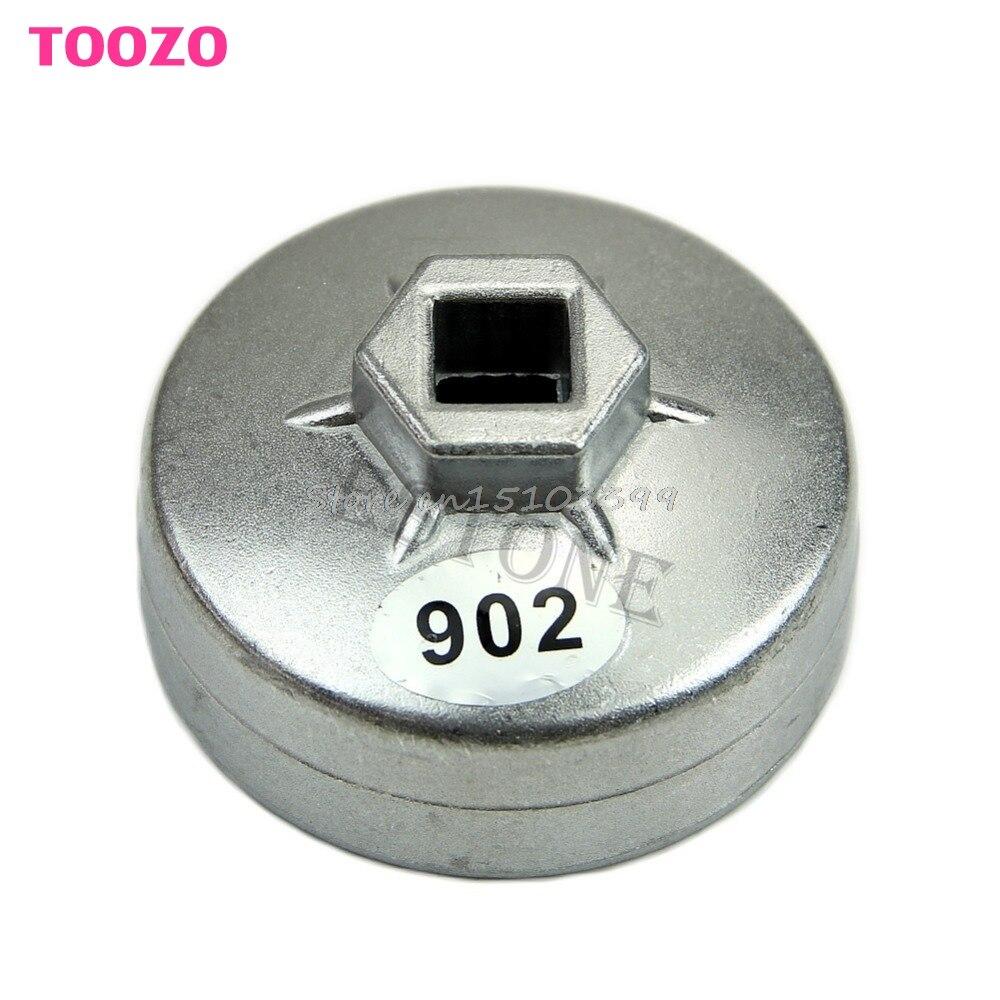 902 tipo 14 tapa para ranuras estilo llave de filtro de aceite 67mm diámetro interno para Ford precisión-Estampado Drop Ship