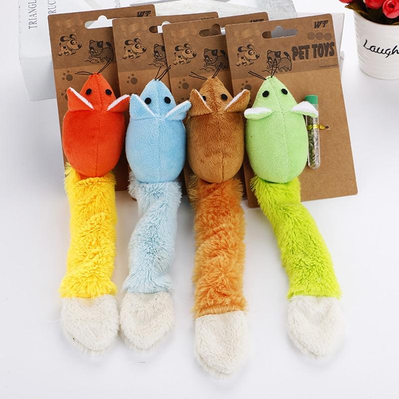 Плюшевые игрушки для кошек, кошачья мята, игрушка для домашних животных, интерактивные кошечки, товары для кошек, игрушка, товары для домашн...