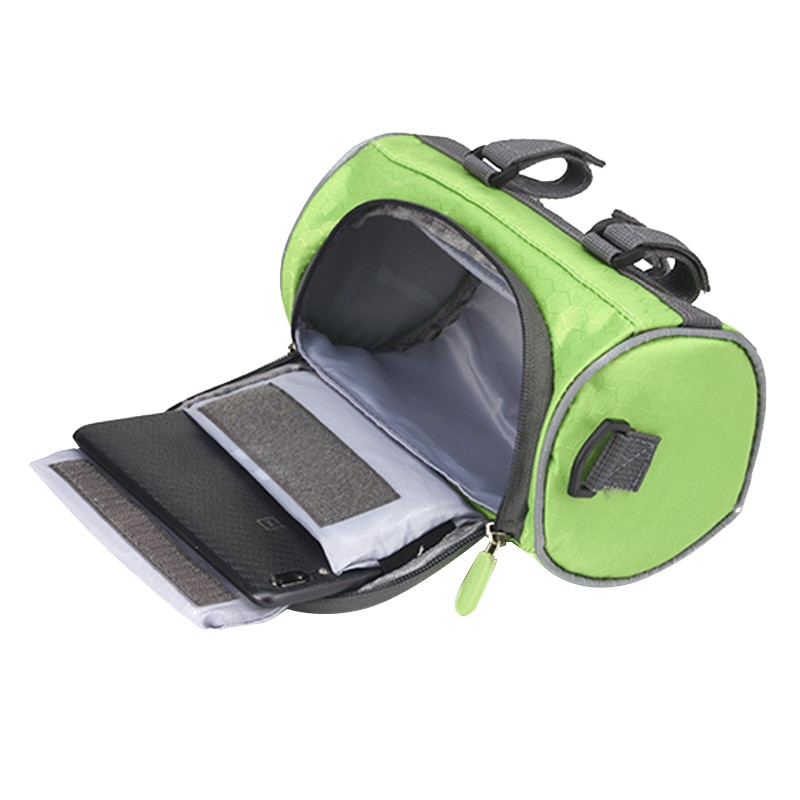 Nylon Bicycle Bag Bike Waterproof Storage Saddle Bag Seat Cycling Tail Rear Pouch Bag Saddle Accessories