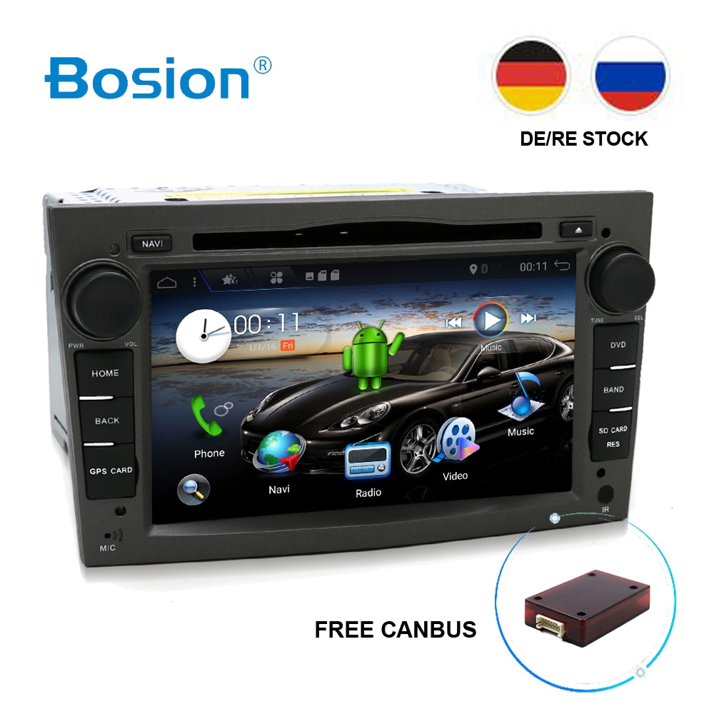 Bosion Octa Core Android 8,1 2 din автомобильный DVD стерео для Vauxhall Opel Astra H G Vectra Antara Zafira Corsa GPS Navi Radio SWC WIFI