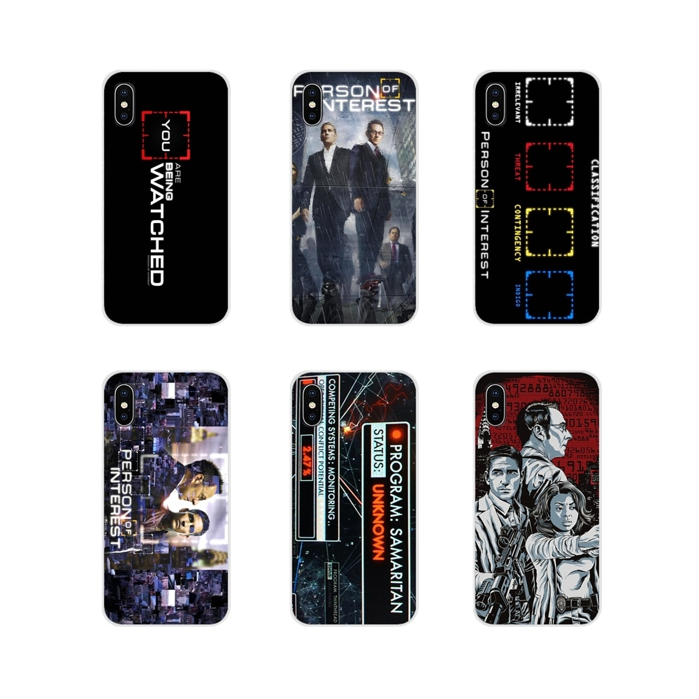 American Tv series Person of Interest Soft Cover For Huawei G7 G8 P7 P8 P9 P10 P20 P30 Lite Mini Pro P Smart Plus 2017 2018 2019