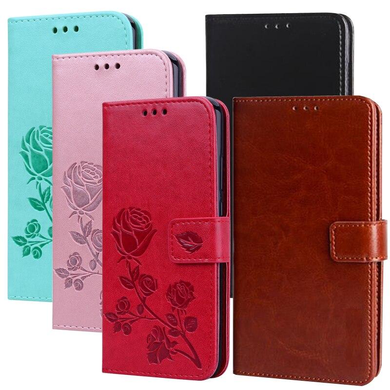Rose Flower Wallet Case For Xiaomi Redmi Note 7 6 5 pro 5A 4X 4 Global Redmi 6 pro 6a 5 plus S2 Mi A1 A2 Lite Mi 9 8 6 SE F1