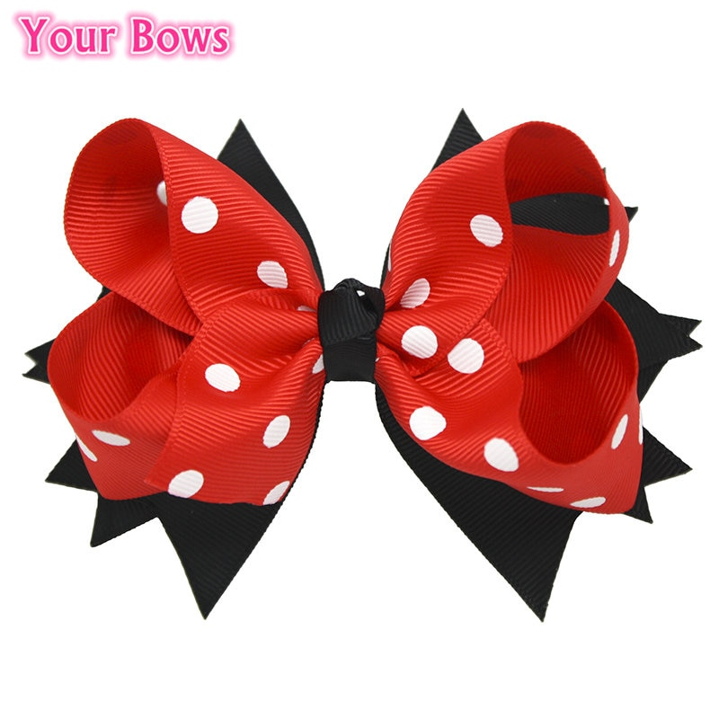 baby girls boutique clothing girls kid back to school outfits girls car camper school clothing with pink ruffle shorts with bows Your Bows 1PC 5Inches Back To School Girls Hair Bows Children Hairpins Boutique Ribbon Bows Hair Clips Fastion Hair Accessories
