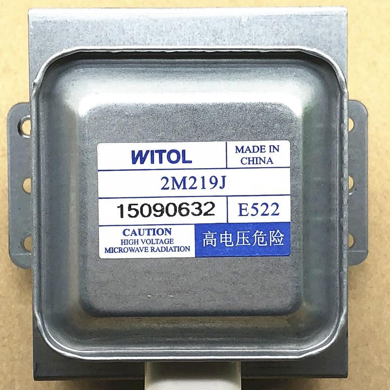 1 قطعة المايكرويف المغناطيسية WITOL 2M219J ل ميديا غالانز الميكروويف أجزاء 100% الأصلي استبدال قطع الغيار اكسسوارات