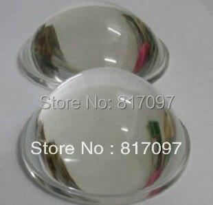 Venta al por mayor Venta 575W 1200W 1500W seguir la lente de luz esférica convexa accesorios de luz de punto partes diámetro 5cm envío gratis