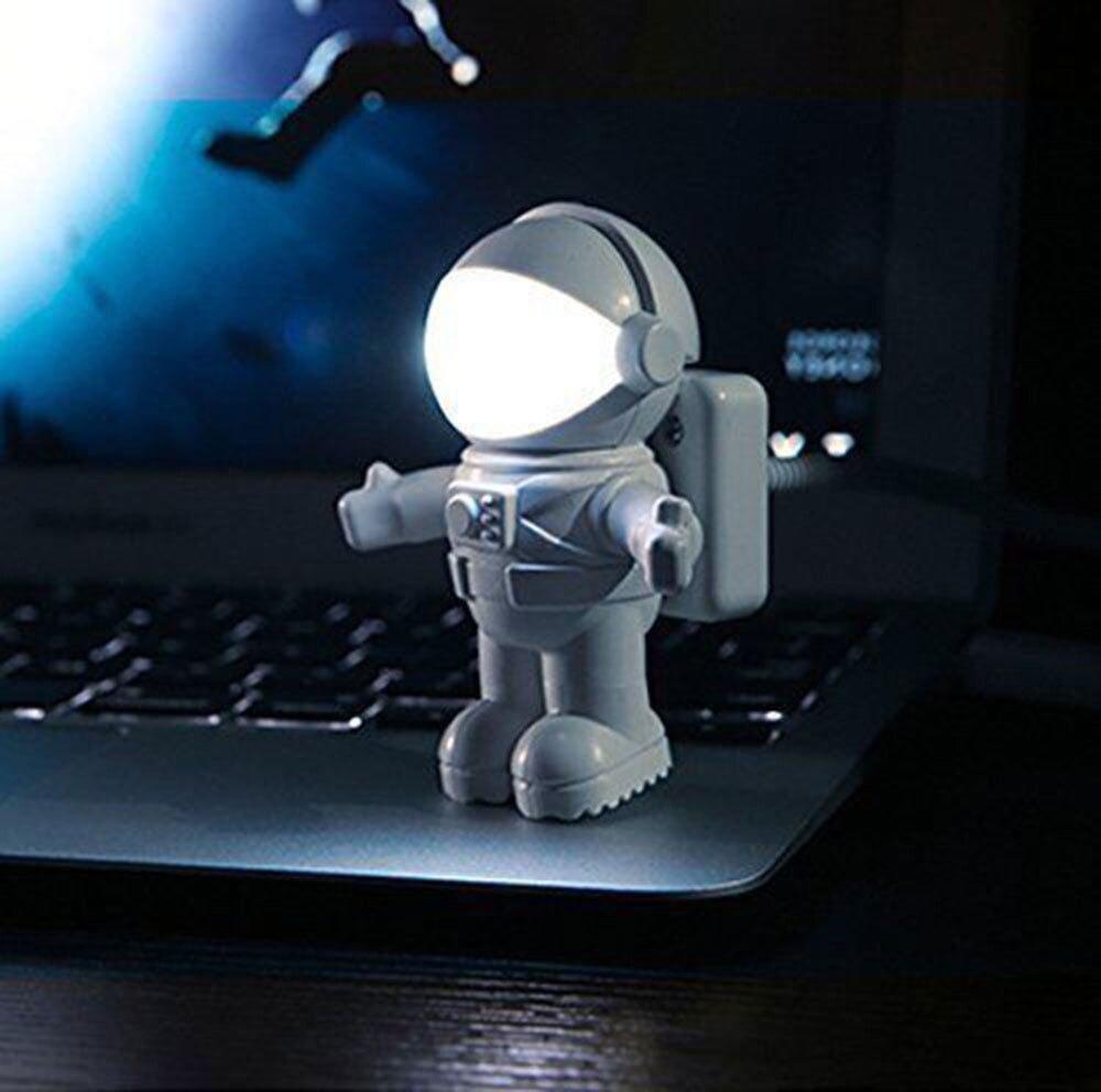 2020 nouvelle arrivée astronaute USB LED veilleuse pour la maison casque interrupteur nuit lampe pour le travail comme cadeau pour enfants espace homme nuit lampe