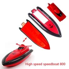 RC hors-bord 800 navire en gros RC navire 800 coque coque 1 pièce ensemble original RC navire 800 orange rouge