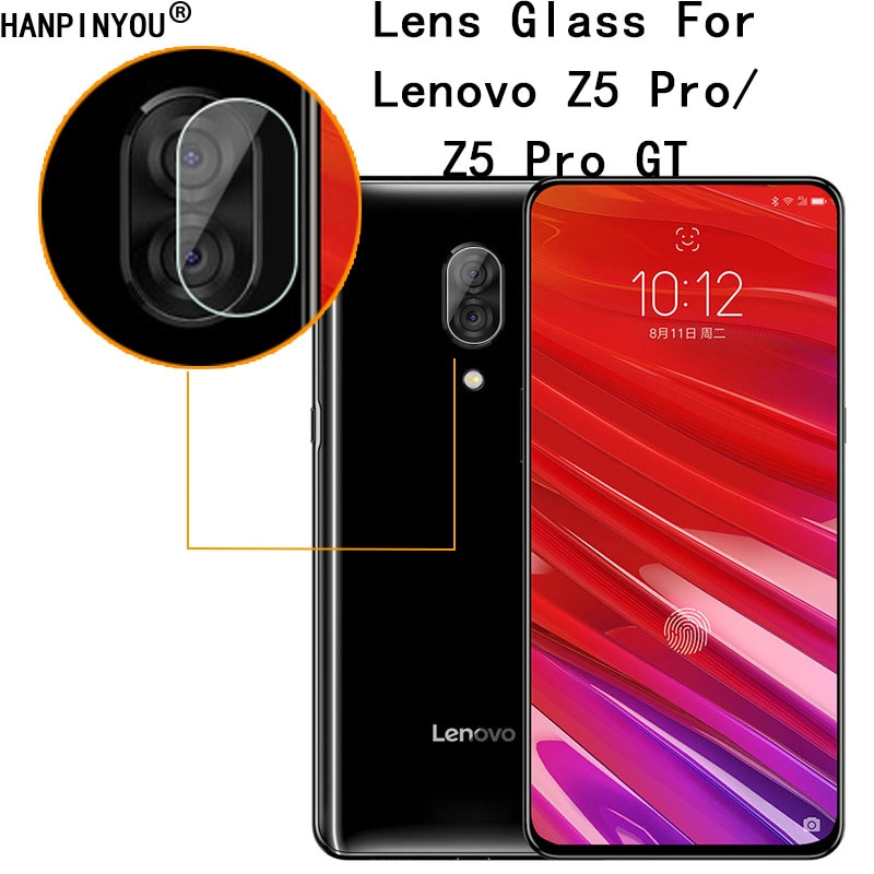 "For Lenovo Z5 Pro / GT 6.39"" Clear Ultra Slim Back Camera Lens Protector Rear Camera Lens Cover Tempered Glass Film"