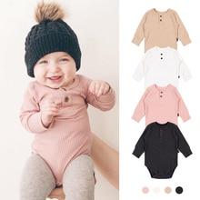 TinyPeople 2020 new Baby Bodysuit Girls Jumpsuit Baby boy underwear Cotton Clothing Vestido autumn bebe dress infant fashionable