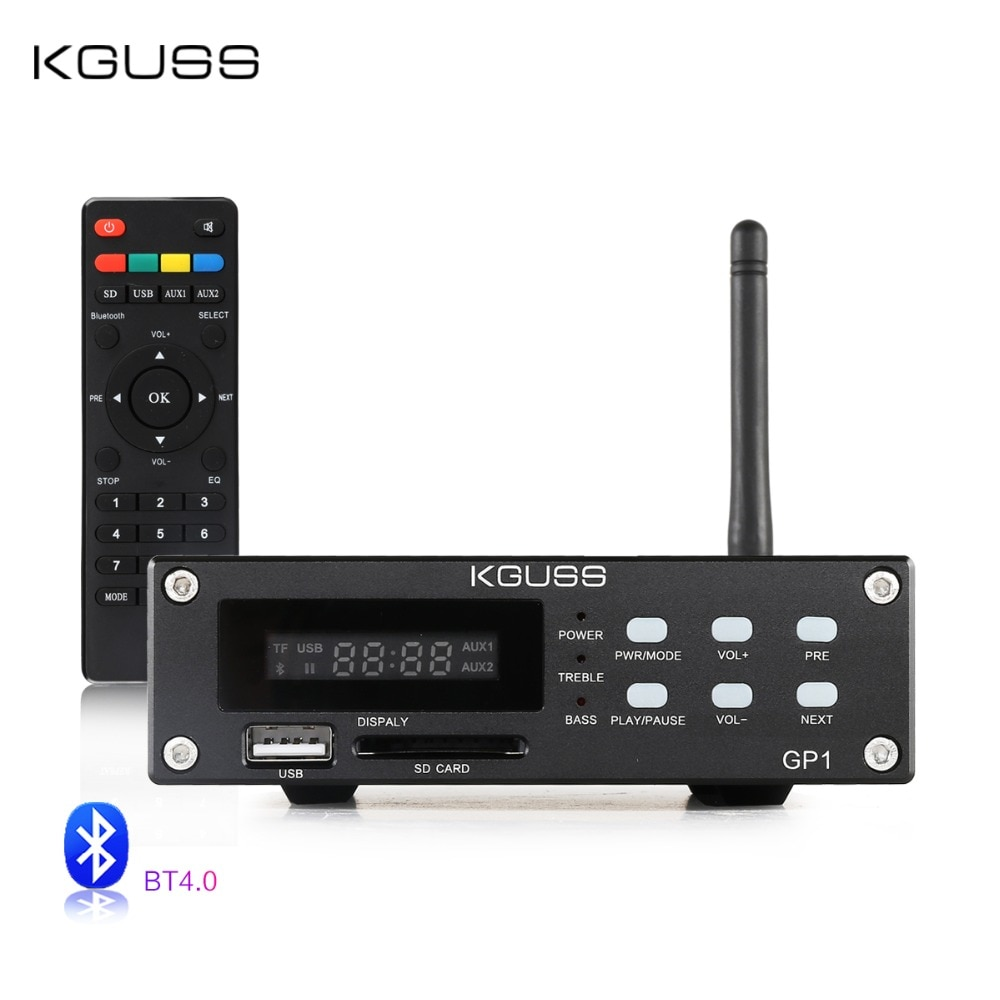 KGUSS GP-1 2.1 audio HIFI Bluetooth Digital Amplifier