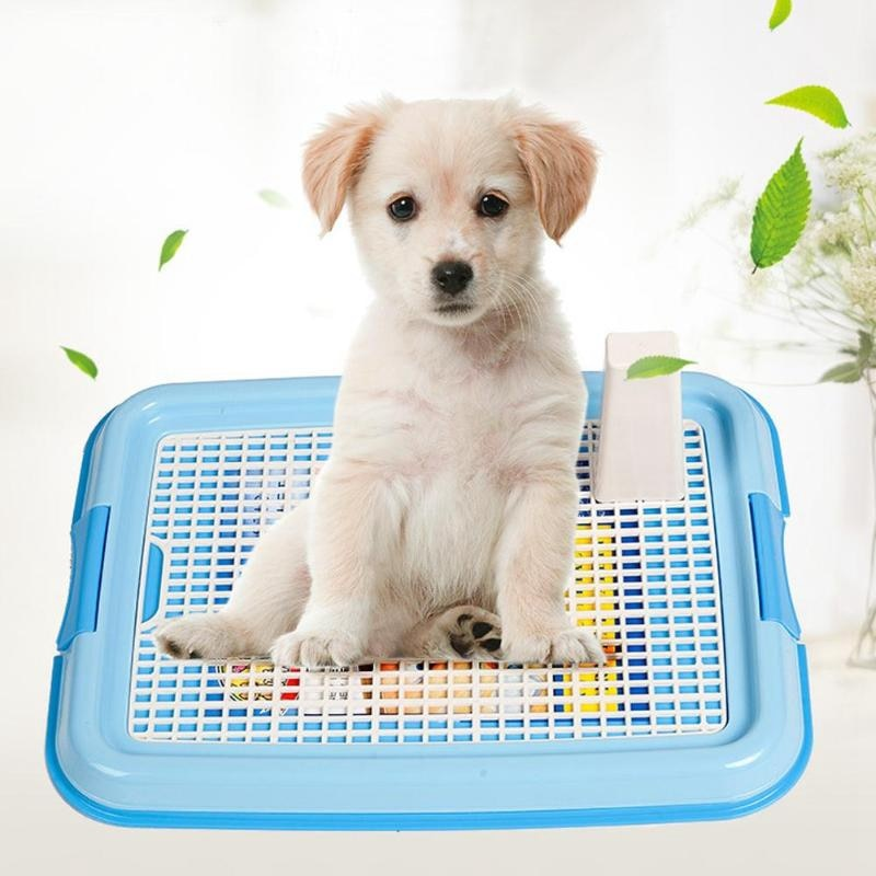 Venda quente treliça cão toalete potty pet toalete para cães gato filhote de cachorro maca bandeja treinamento toalete fácil de limpar suprimentos para animais de estimação