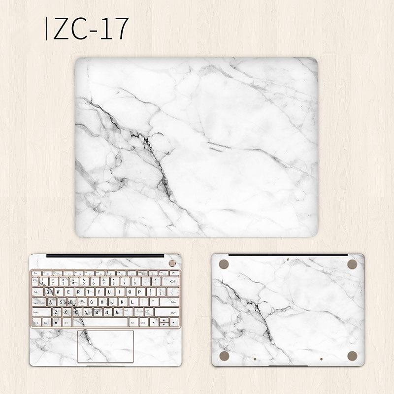 White Marble Laptop Sticker for Huawei Matebook X Pro 13.9 X 13.3 Vinyl Decal Notebook Skin for MateBook E 12 D 15.6 Laptop Skin