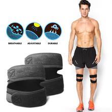 1 pc genou soutien rotule bande élastique bande de pansement genouillères protecteur bande Football course Fitness