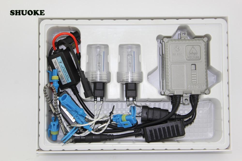 12 В 35 Вт Can Bus Ballst + высокое качество быстрый старт яркая HID лампа весь комплект HID комплекты фар дропшиппинг