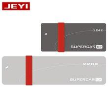 JEYI i8 TYPE-C3.1 USB3.1 USB3.0 m.2 NGFF SSD Lecteur Mobile VIA VLI716 Support GARNITURE SATA3 6gbps UASP Aluminium SSD HDD Boîtier