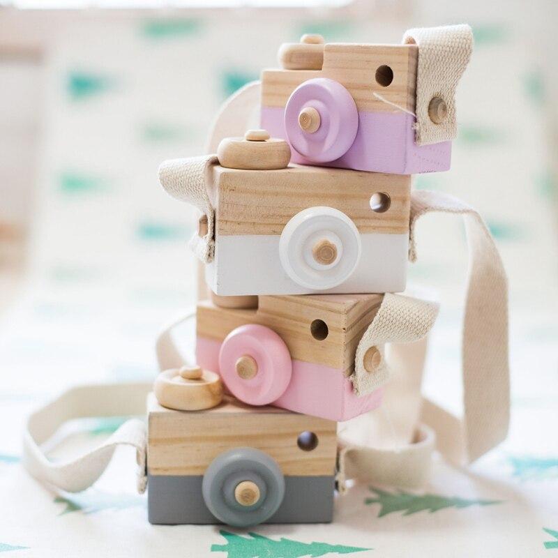 Игрушки для камеры в скандинавском Европейском стиле, декор для детской комнаты, Товары для детей на Рождество, день рождения, деревянные по...