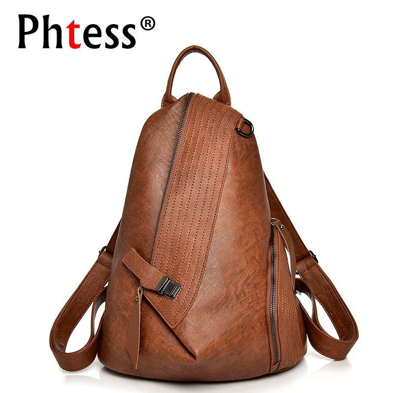 Luxury Backpack For Girls 2019 Women Backpacks High Quality Travel Shoulder Bags Female Ladies Bagpack Casual Daypack Preppy New