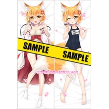 Housse de protection pour cheveux   La Fox utile senko-san Dakimakura, Senko, Anime Girl