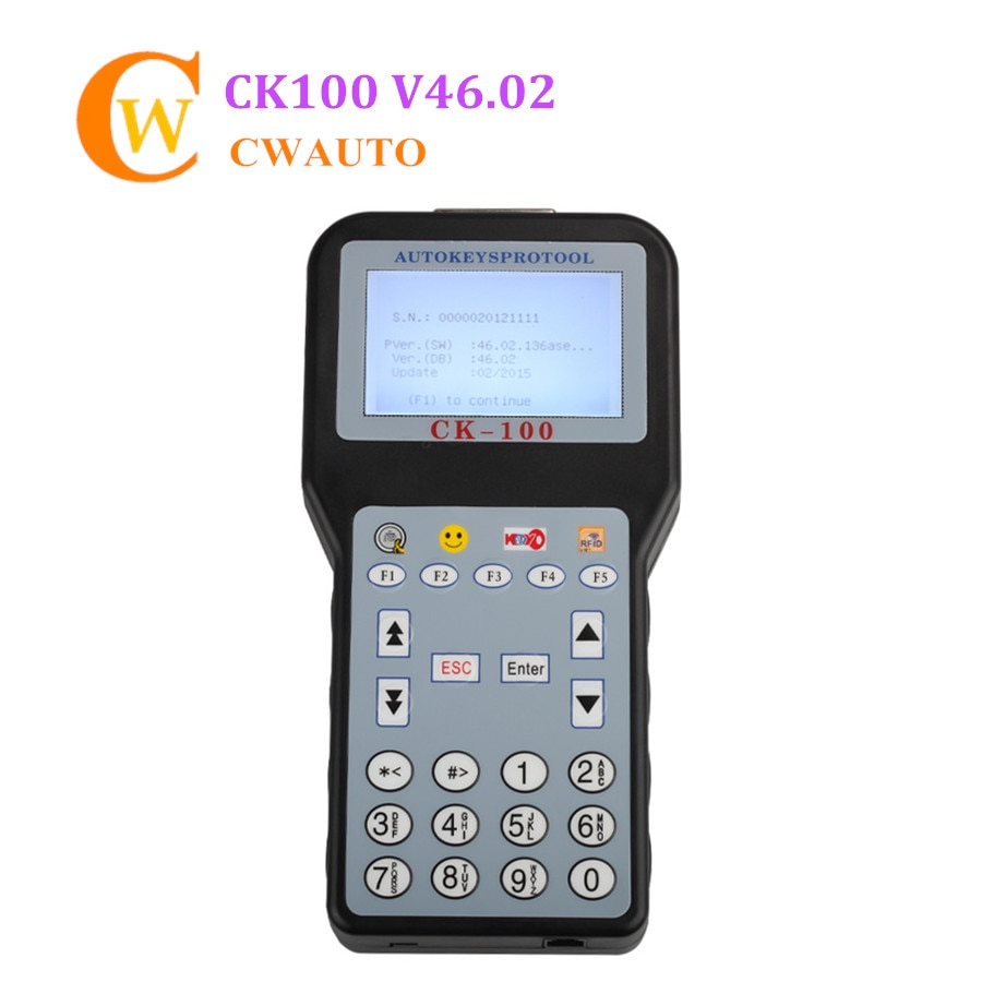 Mejor programador de llave V46.02 de CK-100 con 1024 fichas CK100 Pefect reemplazar SBB soporte G Chip Multi Idioma