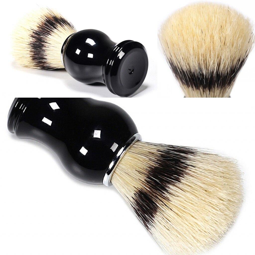 Hot Sale Male Shaving Brush Salon Face Beard Shave Tool Badger Hair Razor Brush Men Beard Cleaning Tool