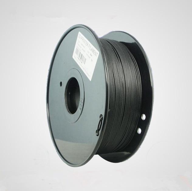 New Black PETG/T glass 3D Printer Filament Acid-Alkaline Resistant 3mm 1kg Plastic Material With Excellent Tenacity